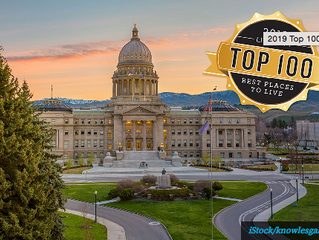 Boise Ranked #1 in Top 100 Places to Live