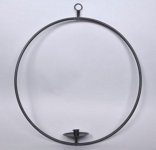 Steel Ring Candle Holder
