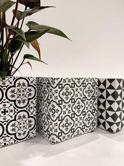 Cement Cubes Pot