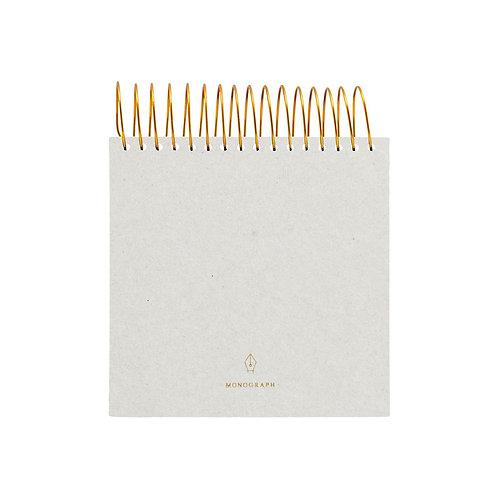 Spiral Notepad, Grey