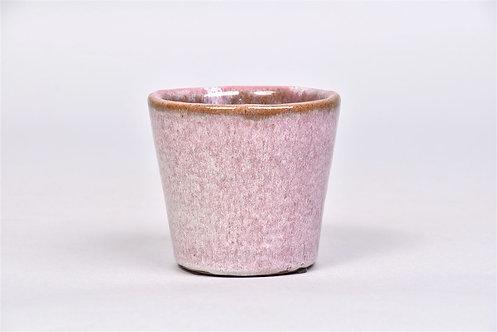 Pink Glazed Pot