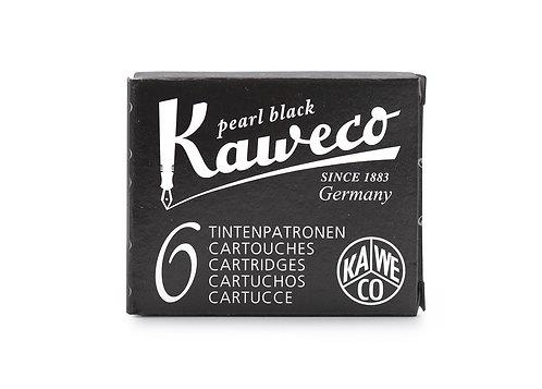 Kaweco Ink Cartridges - Pearl Black