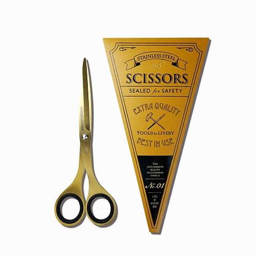 Fine Brass Scissors