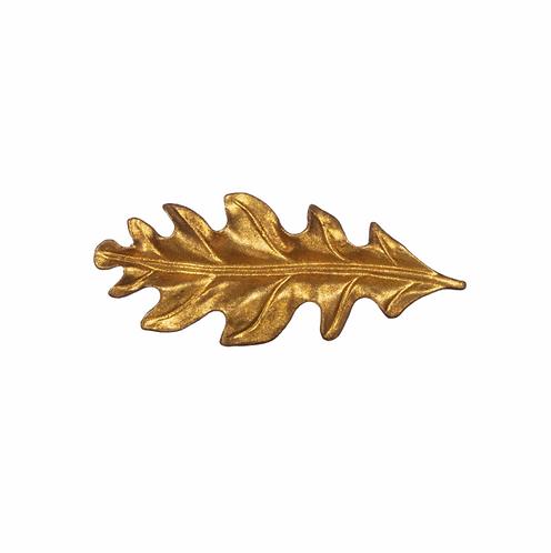 Gold Leaf Drawer Knob