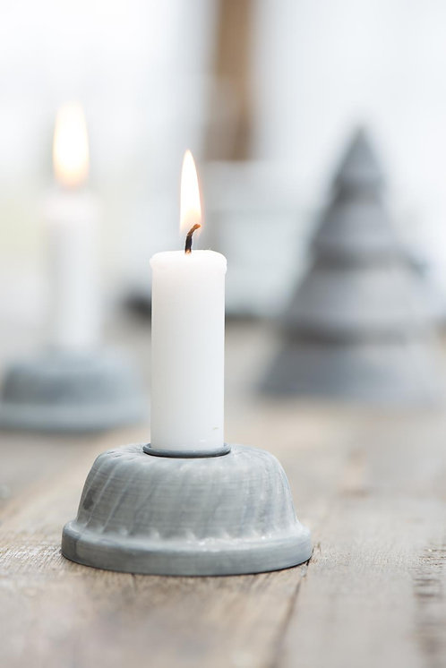 Zinc Candle Holder
