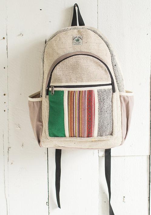 Natural 100% Hemp Backpack