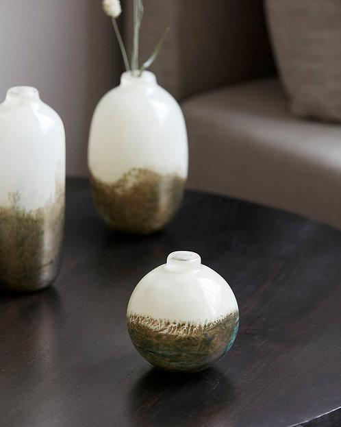 Glass Earth Vase - Spherical