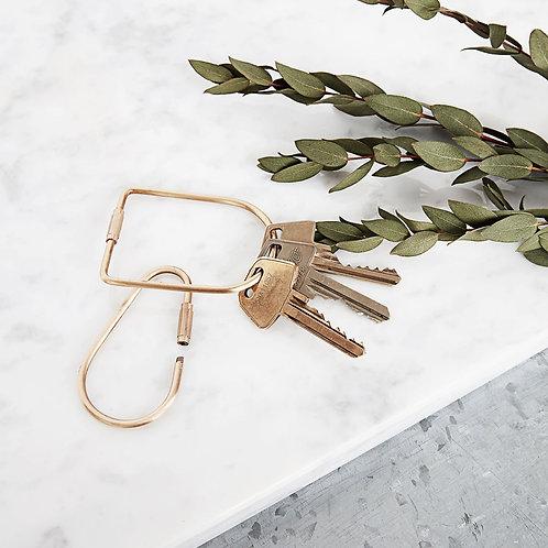 Keychain, Port, Brass