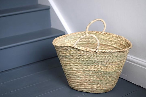 Rope Handled Basket