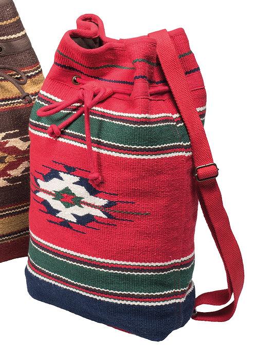 Kilim Backpack - Red