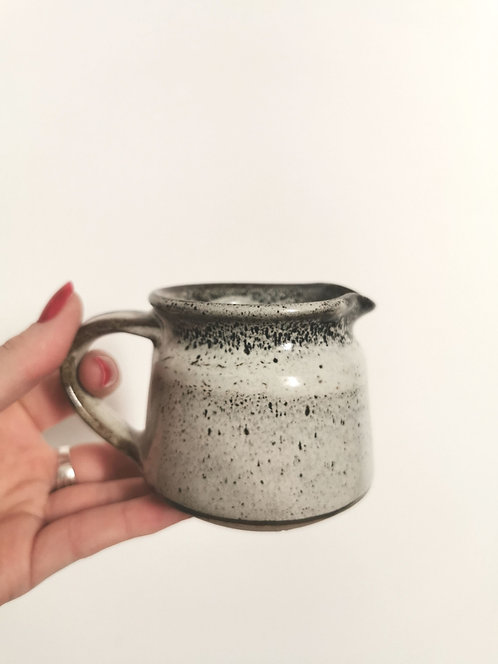 Hand Thrown Jug - Chocolate Speckle