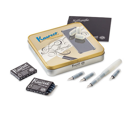 Kaweco FROSTED Sport Calligraphy Set - Natural Coconut