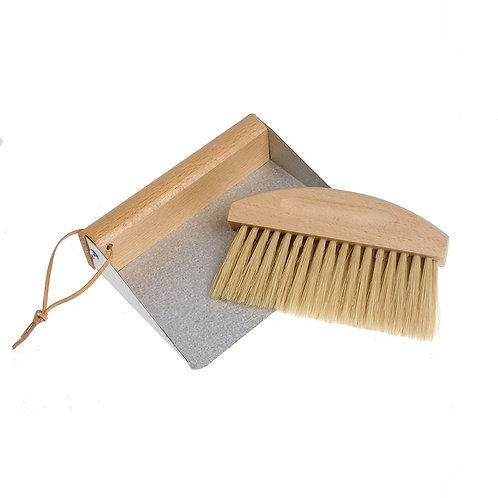 Magnetic Valet Dust Pan and Brush