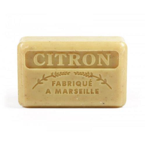 125g Crushed Lemon French Market Soap