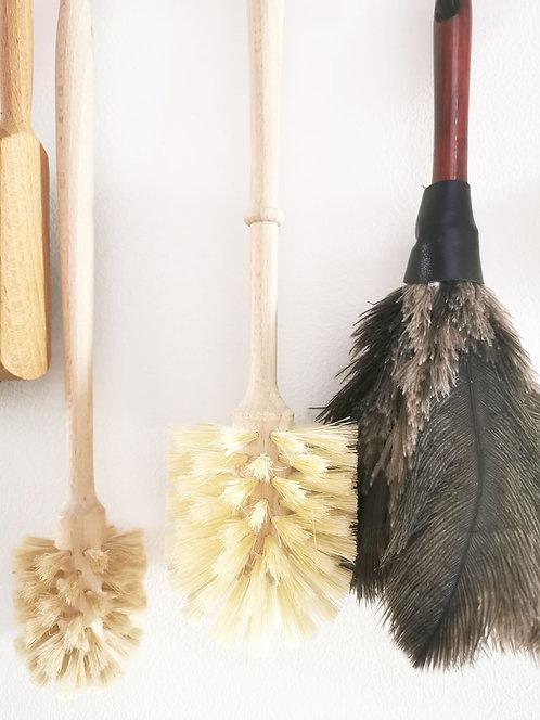 Small Beechwood Toilet Brush