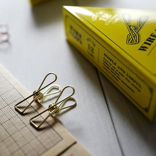 Tools to Live By Wire Clips (Gold)