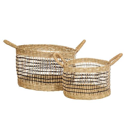 Woven Seagrass Storage Basket