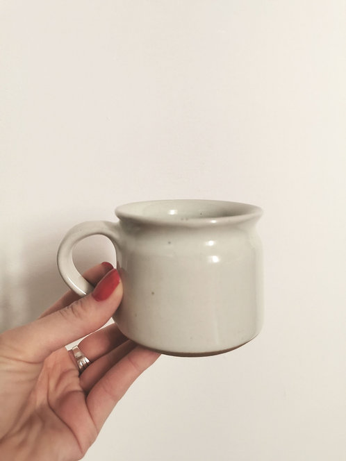 Hand Thrown Mug - Natural