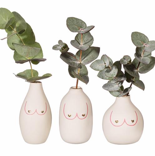 Mini Girl Power Boobies Vases
