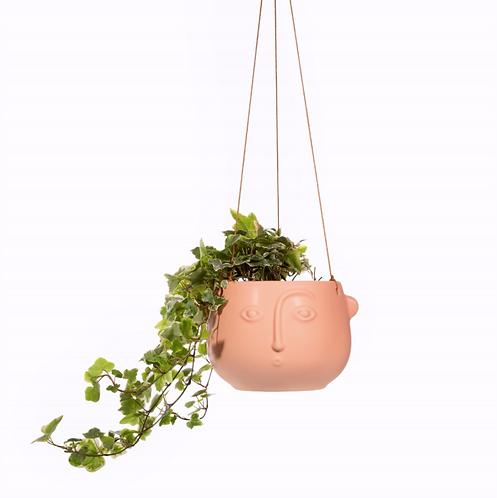 Face Hanging Planter