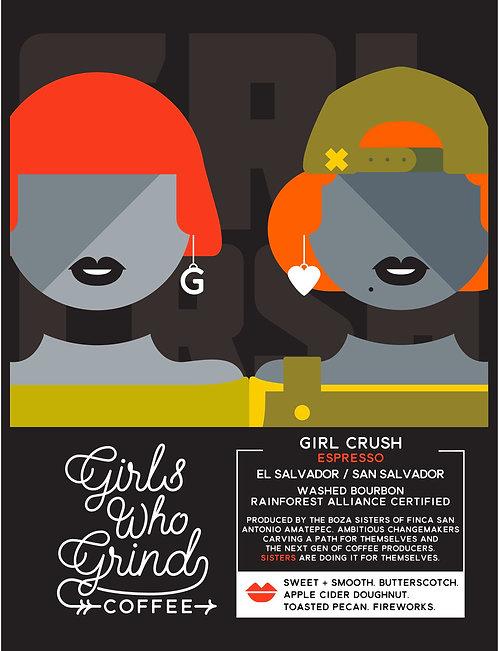 Girls Who Grind, Girl Crush Espresso El Salvador 250g