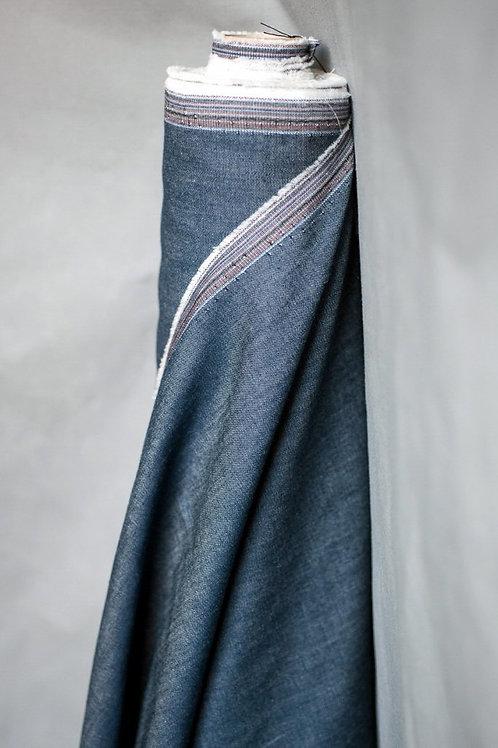 4oz Cotton Chambray Dark Blue
