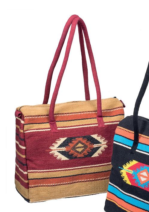 Kilim Wool Weekender Bag