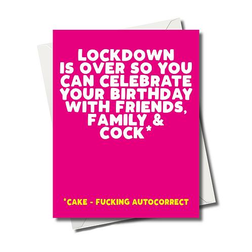 Lockdown Card