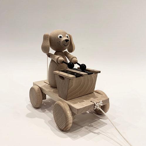 Pull Along Xylophone Dog
