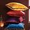 Thumbnail: Velvet Cushion - Pom Poms