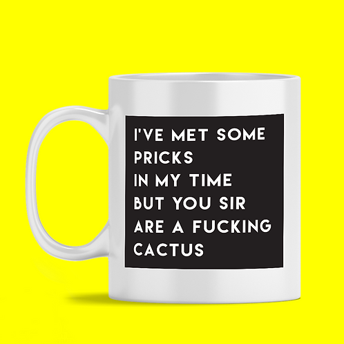 Fucking Cactus Mug