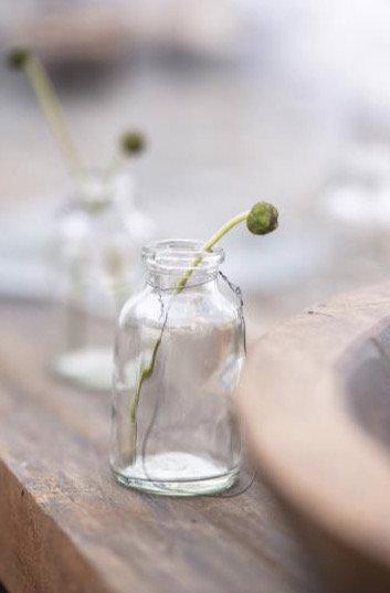 Mini bottle vase