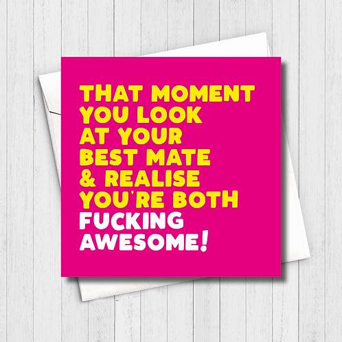 Fucking Awesome Card