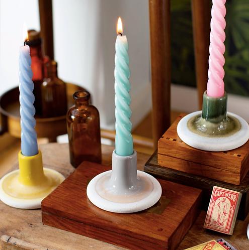 Mojave Glaze Candle Holder