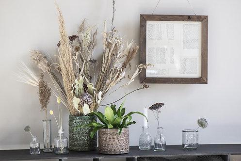 Patterned Plant Pot