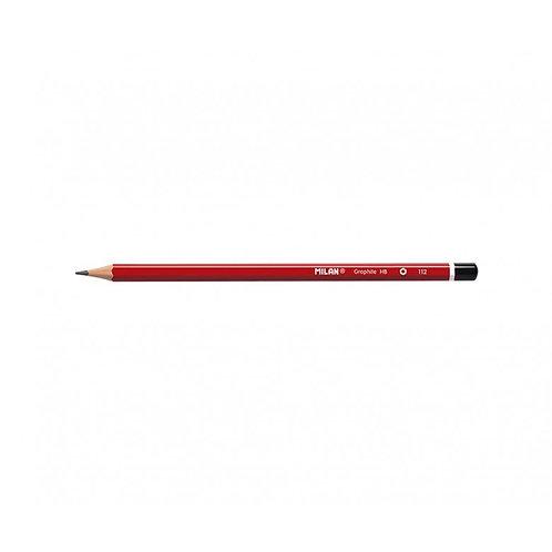 Milan HB Graphite Pencils Pack of 12