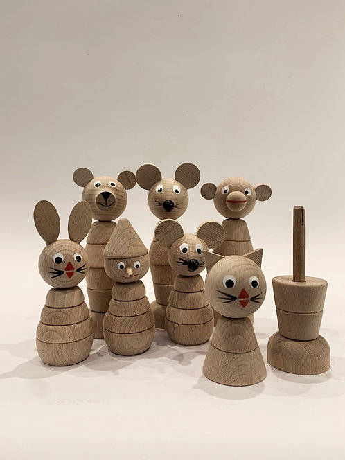 Build Up Wooden Toys