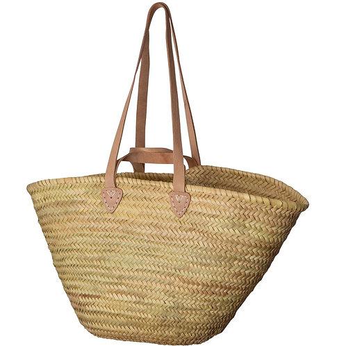 French Market Basket - Shoulder Handles