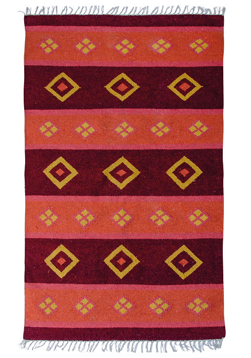 Hand Loom Recycled Cotton Rug 140 x 200cm