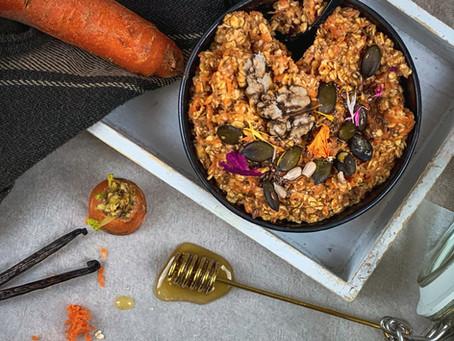 Porridge Carrot Cake