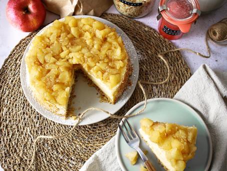 Cheesecake aux pommes et astuces anti-gaspi