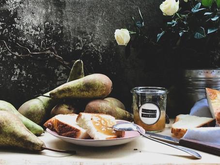 Confiture de poires & vanille