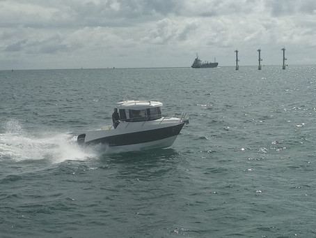Playtime in the Solent