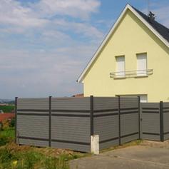 Alu-Sichtschutz_Wien mit Einstreuprofile