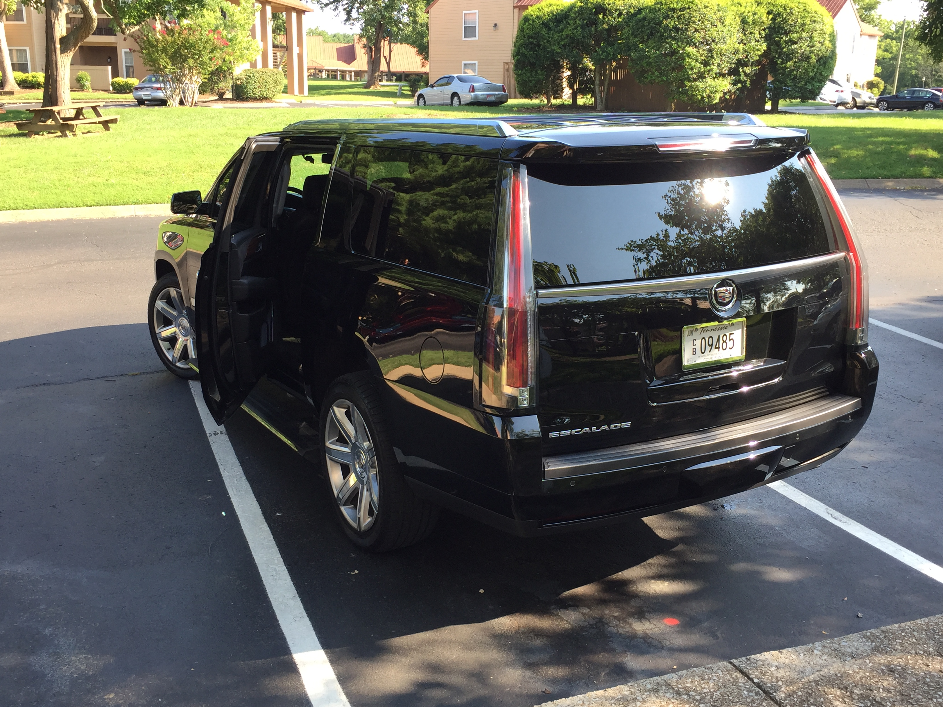 Escalade ESV Black Car Nashville
