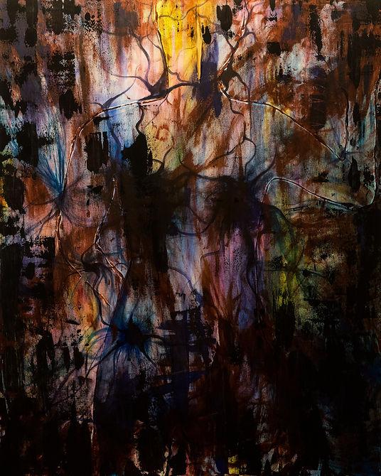 Gender Dysphoria (2019), Acrylic on Canvas, 80x100cm