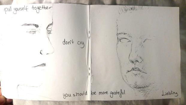 Artist Zine Page 4