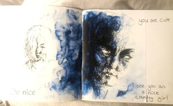 Artist Zine Page 2
