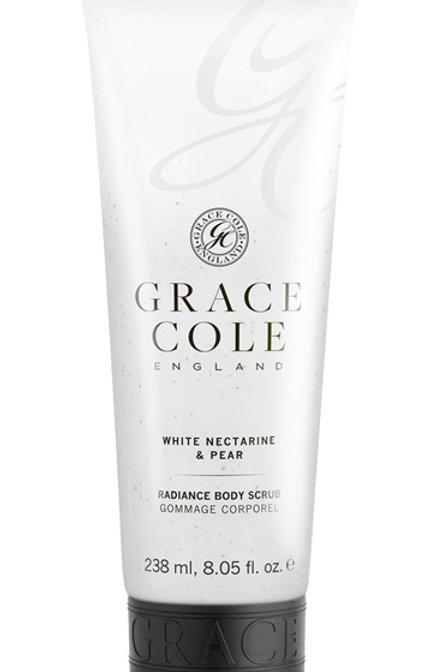 Grace Cole Nectarine & Pear Body Scrub - Schoonheidssalon Saona Aalst