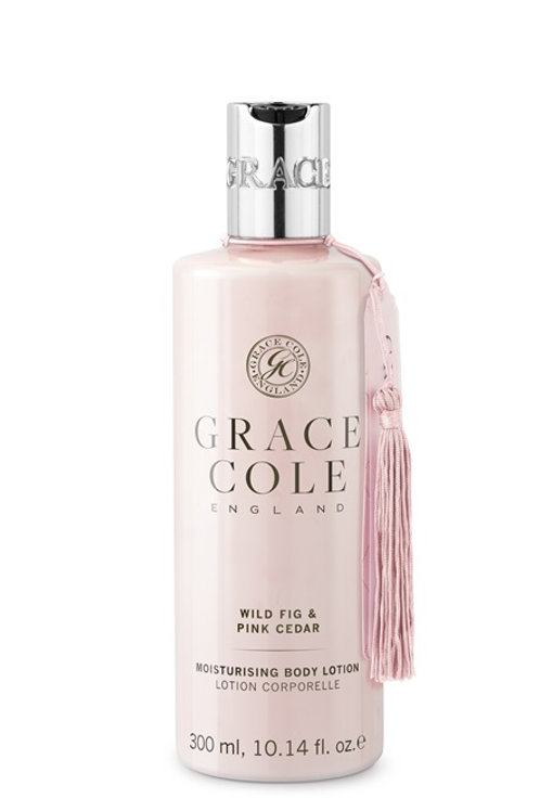 Grace Cole Wild Fig & Pink Cedar Body Lotion - Schoonheidssalon Saona Aalst